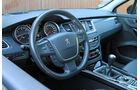 Peugeot 508 SW HDi 160, Cockpit, Lenkrad