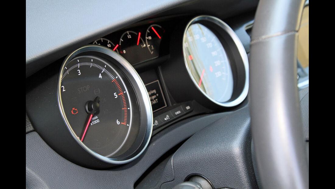 Peugeot 508 SW HDi 160, Rundinstrumente
