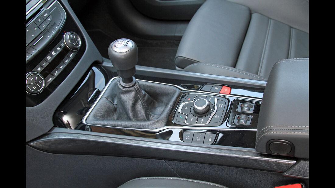 Peugeot 508 SW HDi 160, Schlathebel, Schaltknauf