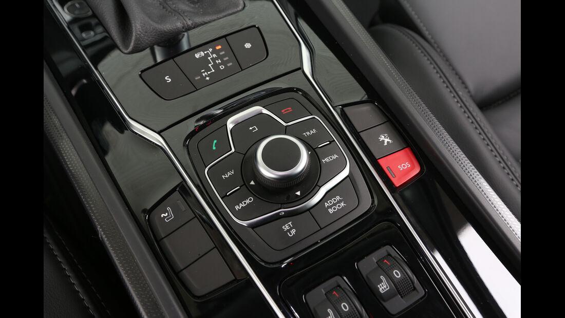 Peugeot 508 SW HDi 180, Bedienelemente