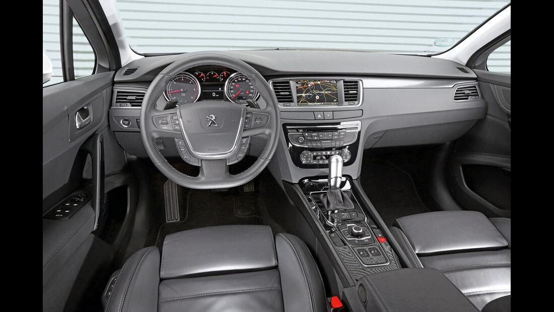 Peugeot 508 SW HDi 180, Cockpit
