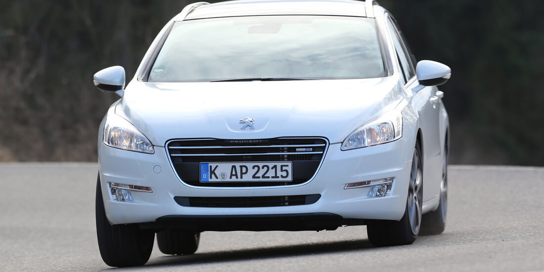 Peugeot 508 SW HDi 180, Frontansicht