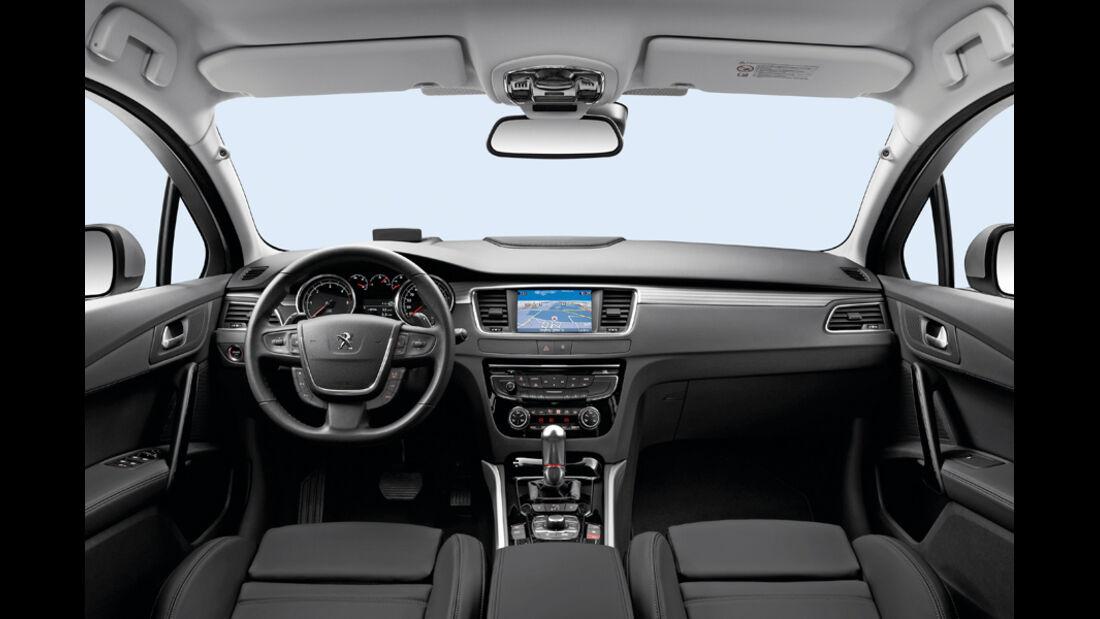 Peugeot 508 SW Kombi, Innenraum