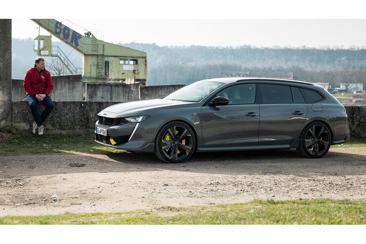 Peugeot 508 PSE: 360-PS-Plug-in-Hybrid-Kombi | AUTO MOTOR UND SPORT - auto motor und sport