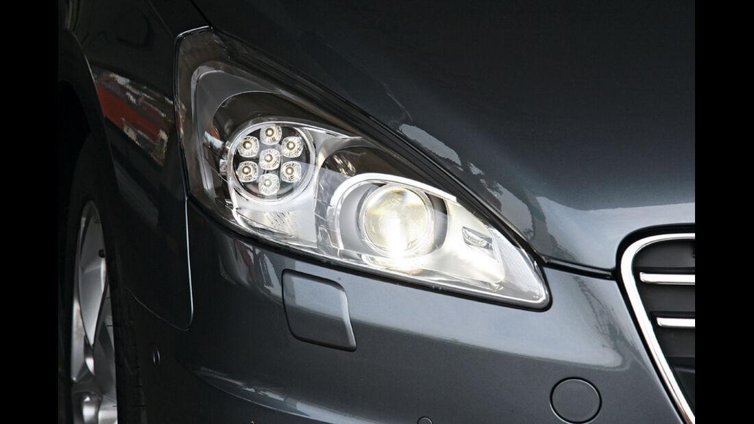 Peugeot 508, Scheinwerfer