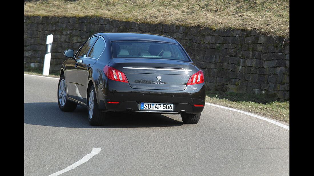 Peugeot 508 THP 155, Heck