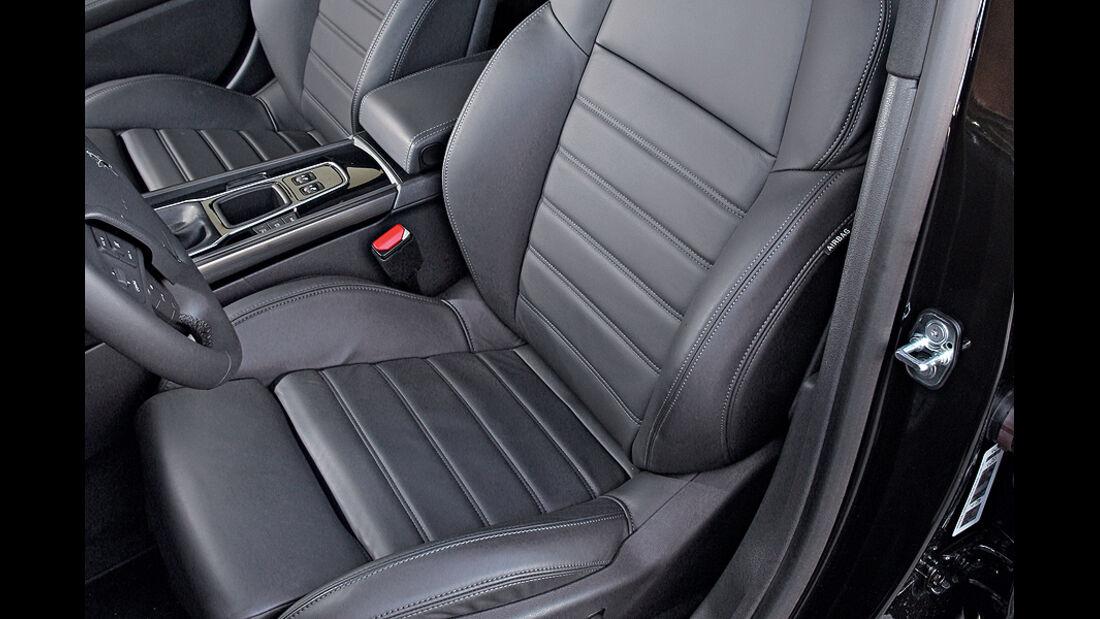 Peugeot 508 THP 155, Sitze vorn