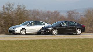 Peugeot 508 THP 155 und Renault Laguna 2.0 16 V 140 im Vergleich, Teaser