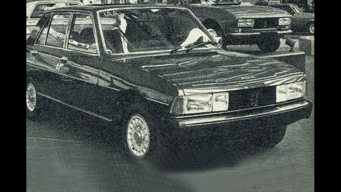 Peugeot, 604 TI, IAA 1977