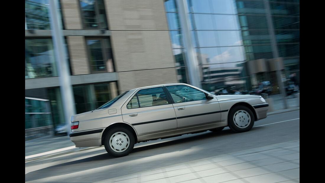 Peugeot 605 2.0 Sri, Seitenansicht