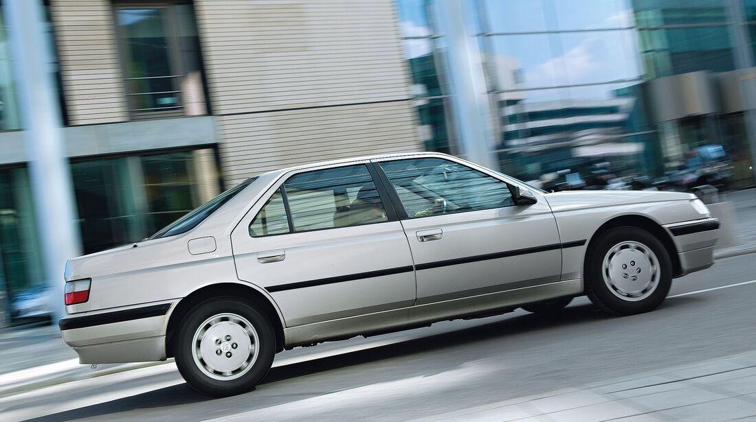 Peugeot 605 3.0 V6 Seite