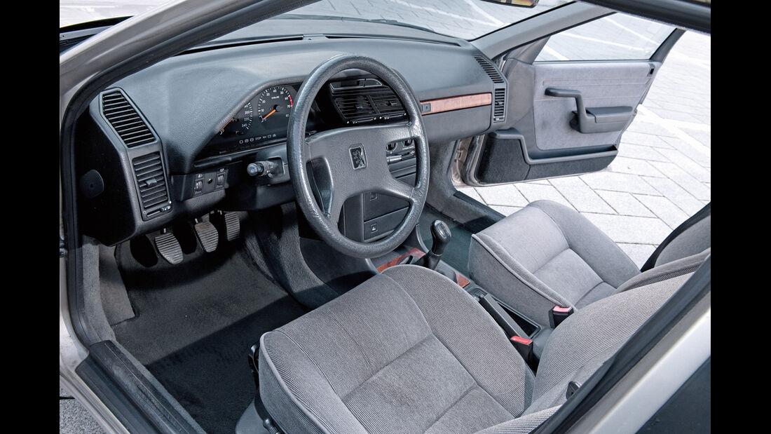 Peugeot 605, Cockpit