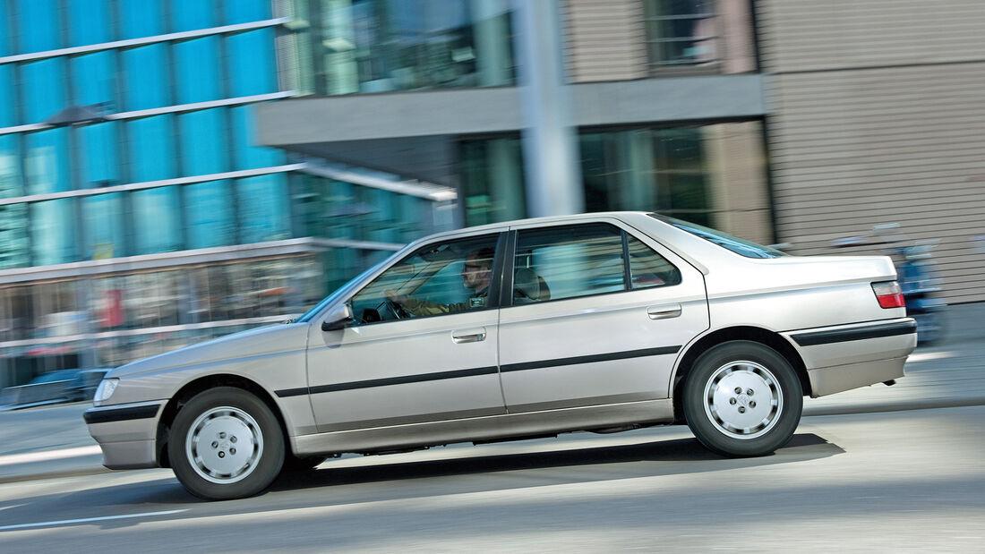 Peugeot 605, Seitenansicht