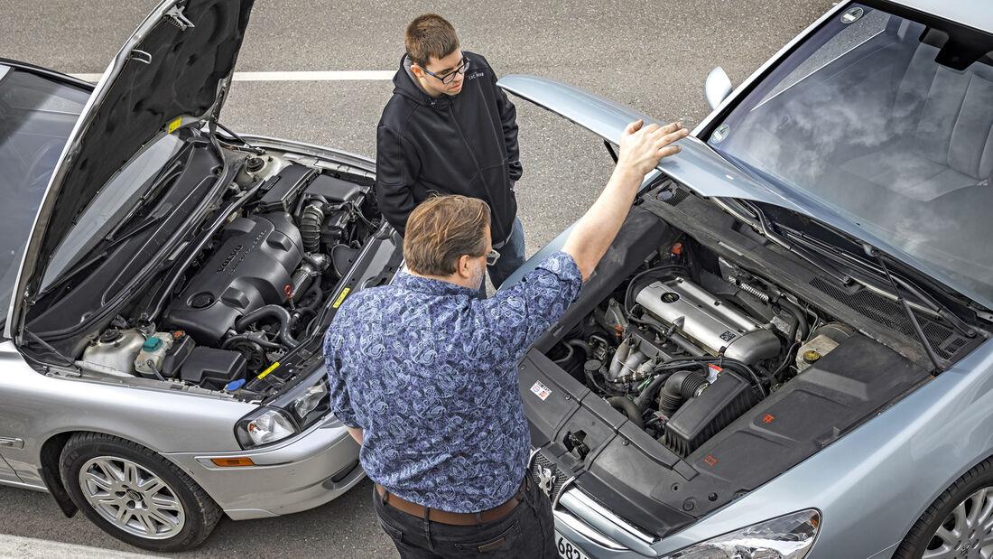 Peugeot 607 2.2 16V, Volvo S80 D5, Motor