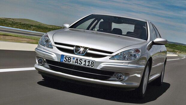 Peugeot 607 3.0 V6 24V Front