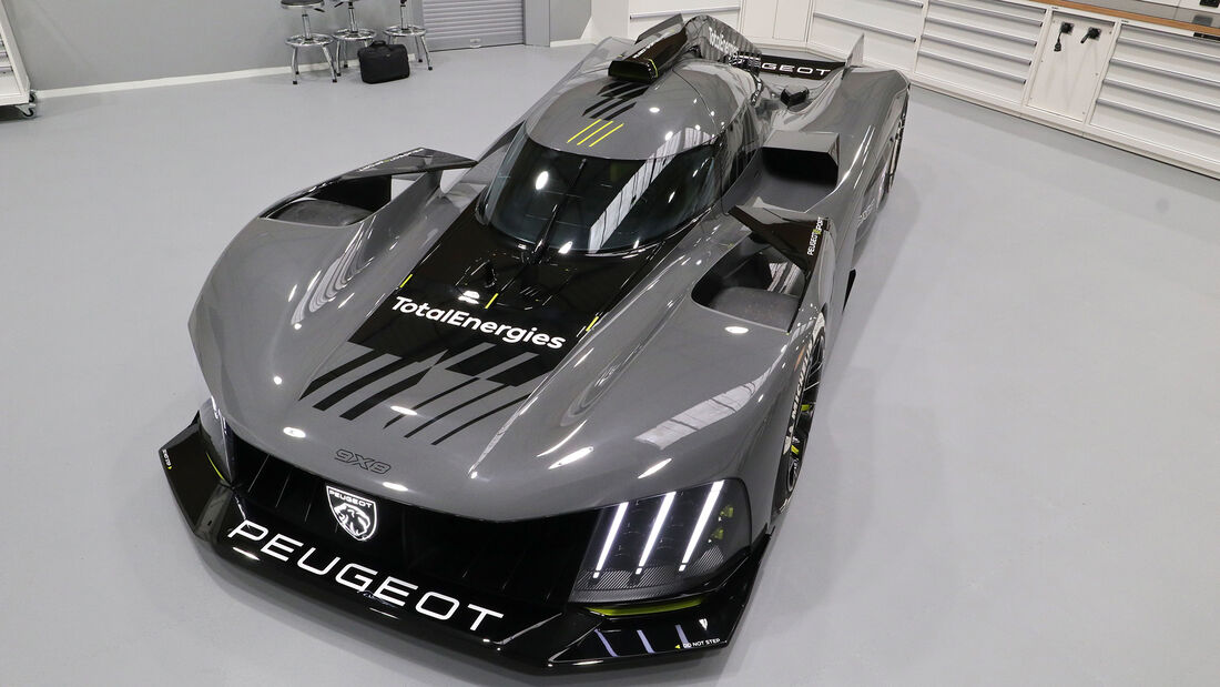 Peugeot 9X8 - Hypercar - Le Mans - Vorstellung 2021