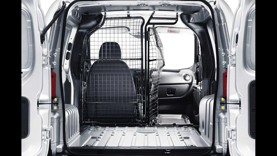 Peugeot Bipper, 2013, Laderaum