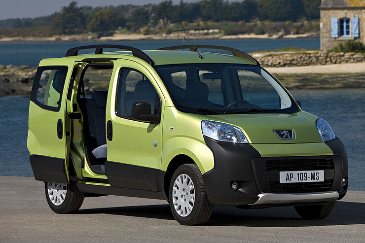 Peugeot Bipper Tepee Outdoor