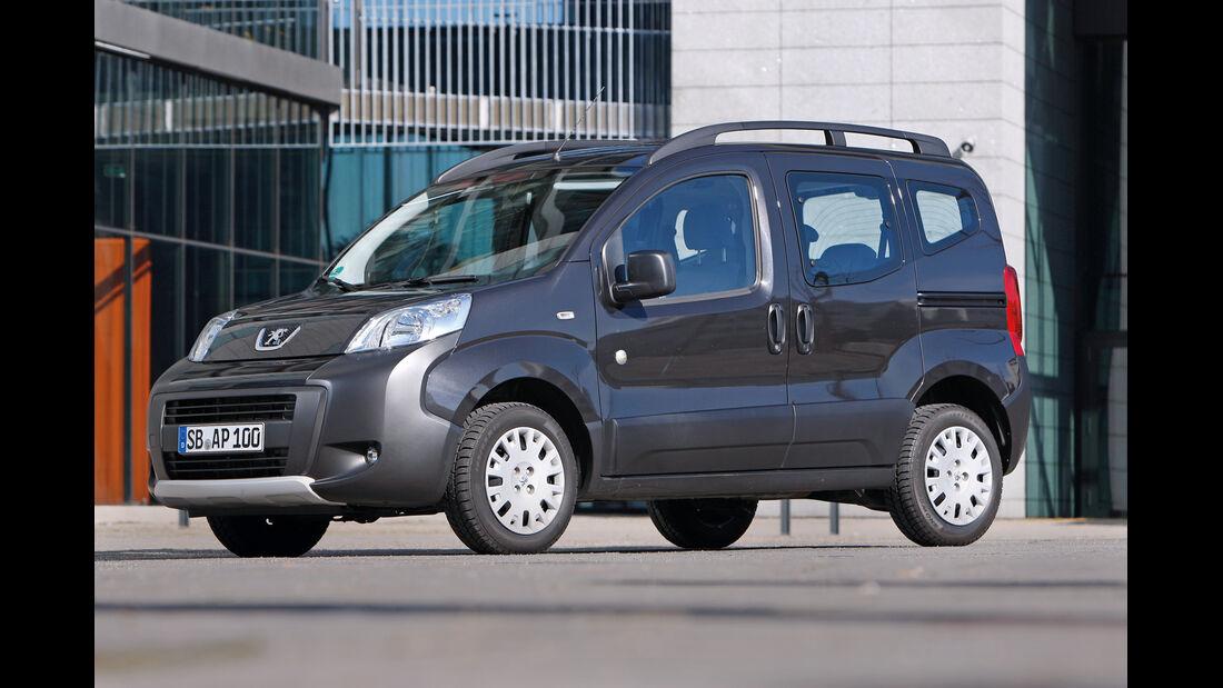 Peugeot Bipper Tepee, Seitenansicht