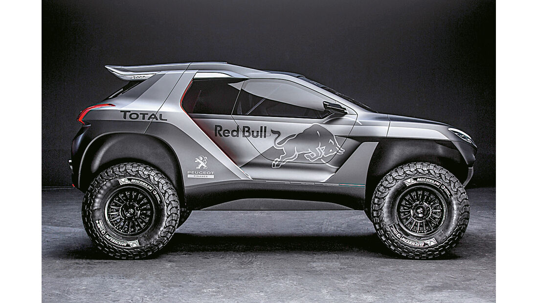Peugeot Buggy, Seitenansicht