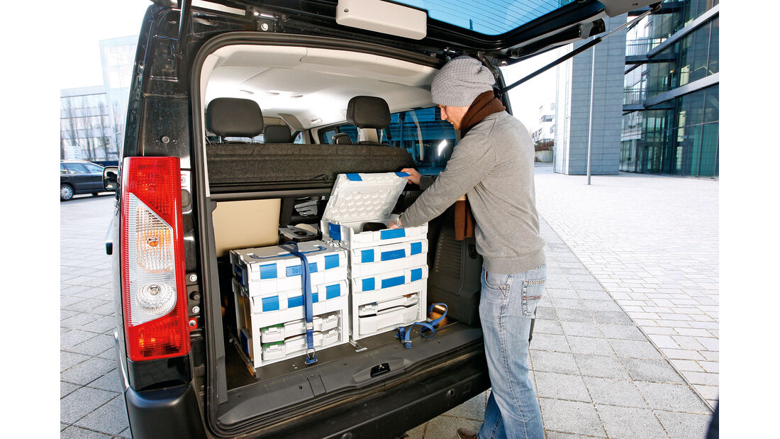 Peugeot Expert Tepee, Heckklappe, Kofferraum