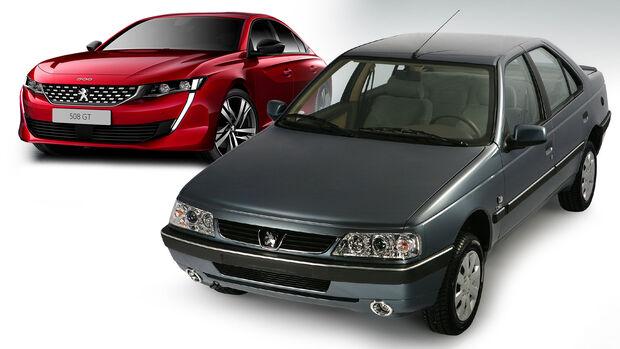 Peugeot IKCO 405 2021 Zulassungen 508 Collage