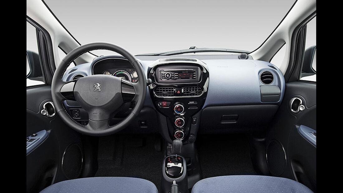 Peugeot Ion, Innenraum
