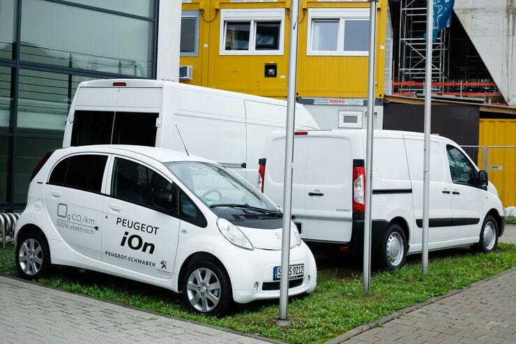 Peugeot Ion, Seitenansicht