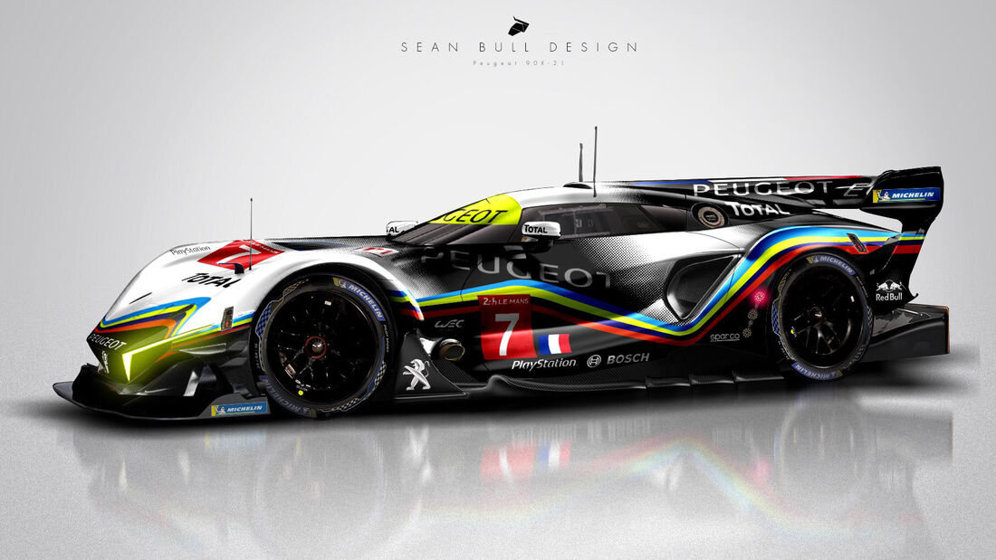 Peugeot - Le Mans - Protoyp - Concept - Hypercar / LMDh - Sean Bull