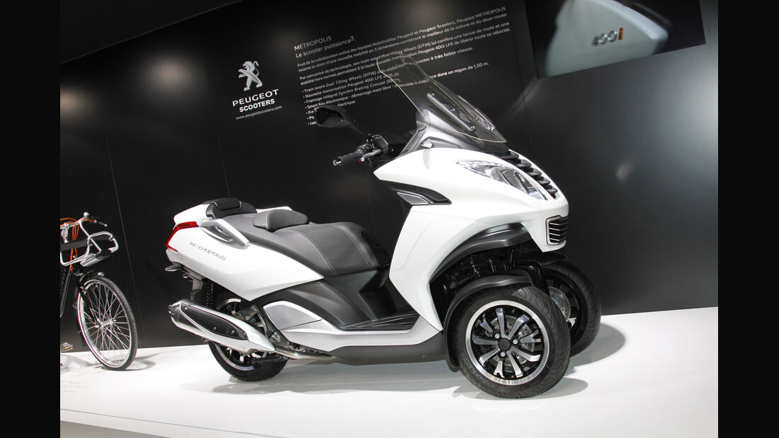 Peugeot Metropolis Roller, Scooter