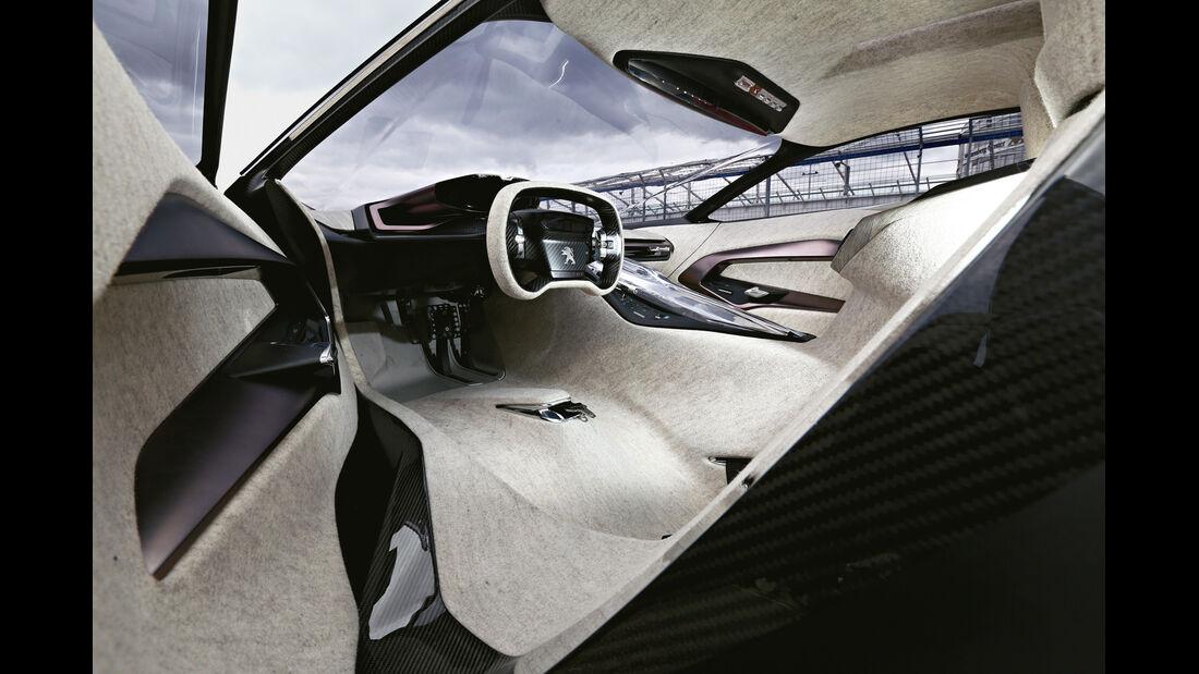 Peugeot Onyx, Cockpit, Lenkrad