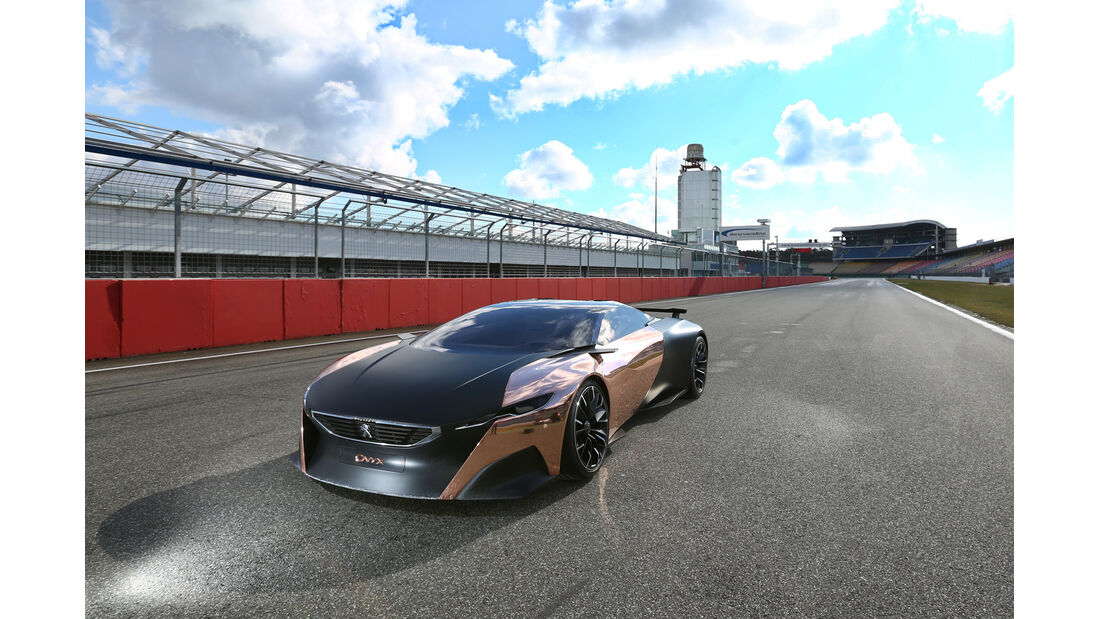Peugeot Onyx, Frontansicht