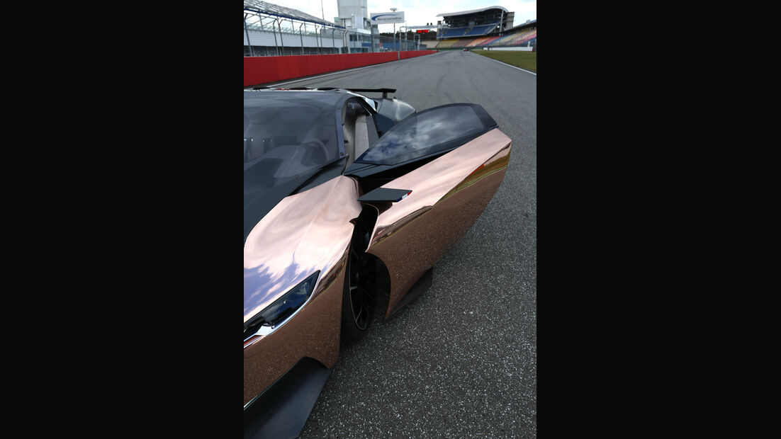 Peugeot Onyx, Frontansicht, Seitentür