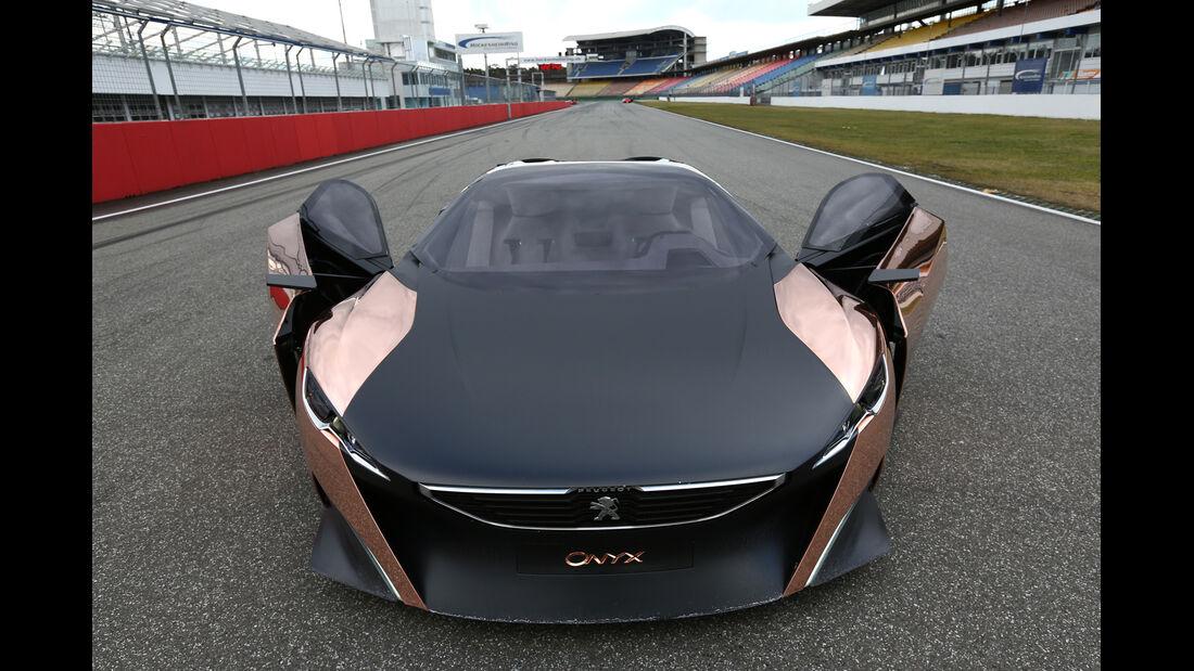Peugeot Onyx, Frontansicht, Seitentüren