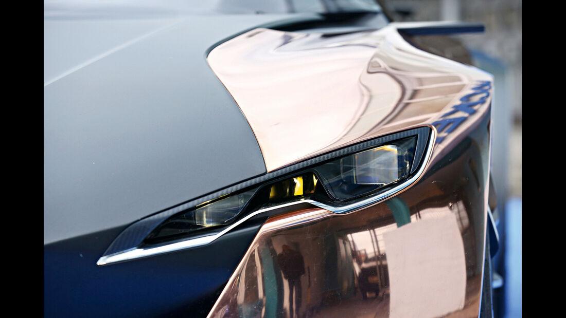 Peugeot Onyx, Frontscheinwerfer