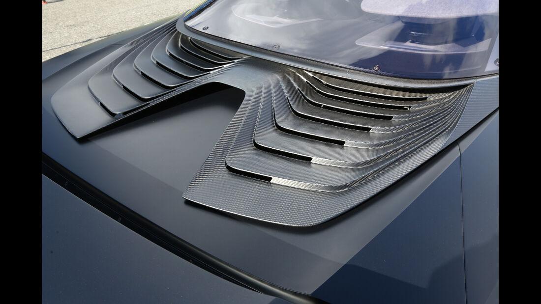 Peugeot Onyx, Heck, Windabweiser