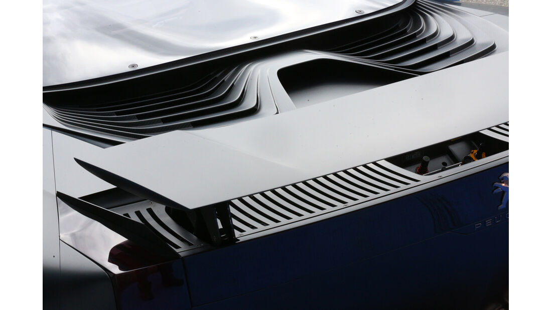 Peugeot Onyx, Heckspoiler, Detail