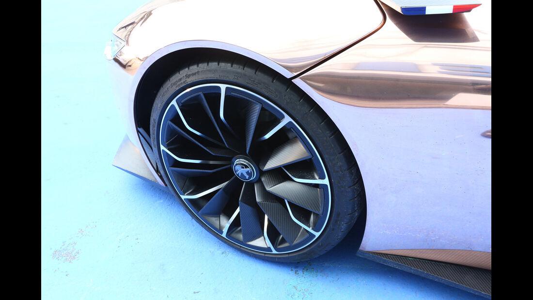Peugeot Onyx, Rad, Felge
