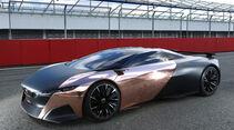 Peugeot Onyx, Seitenansicht