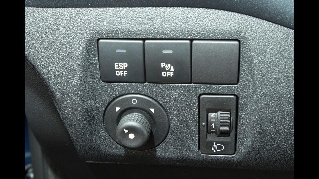 Peugeot Partner Tepee 98 VTi Active, Bedienelemente