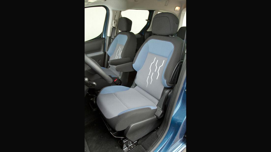 Peugeot Partner Tepee 98 VTi Active, Fahrersitz