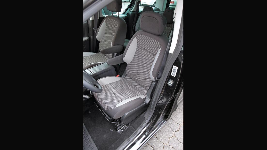 Peugeot Partner Tepee HDi 115, Fahrersitz