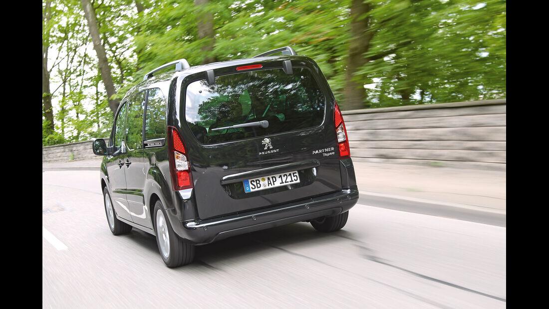 Peugeot Partner Tepee HDi 115, Heckansicht