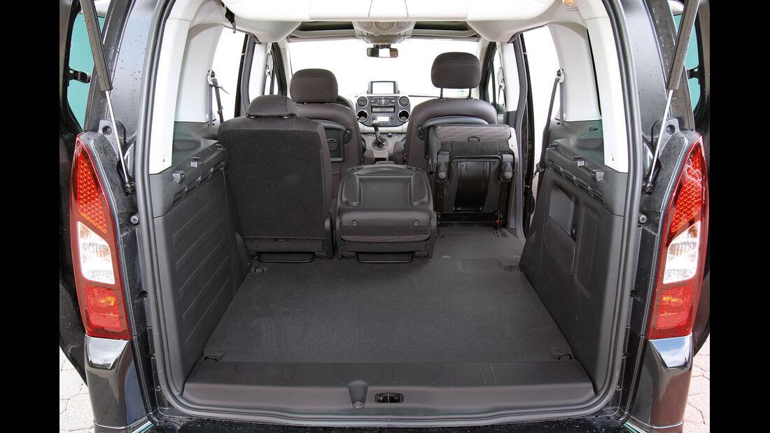 Peugeot Partner Tepee HDi 115, Ladefläche, Kofferraum