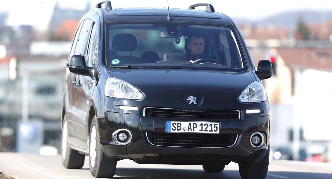 Peugeot Partner Tepee HDi FAP 115 Allure, Frontansicht