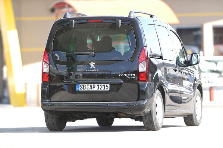 Peugeot Partner Tepee HDi FAP 115 Allure, Heckansicht