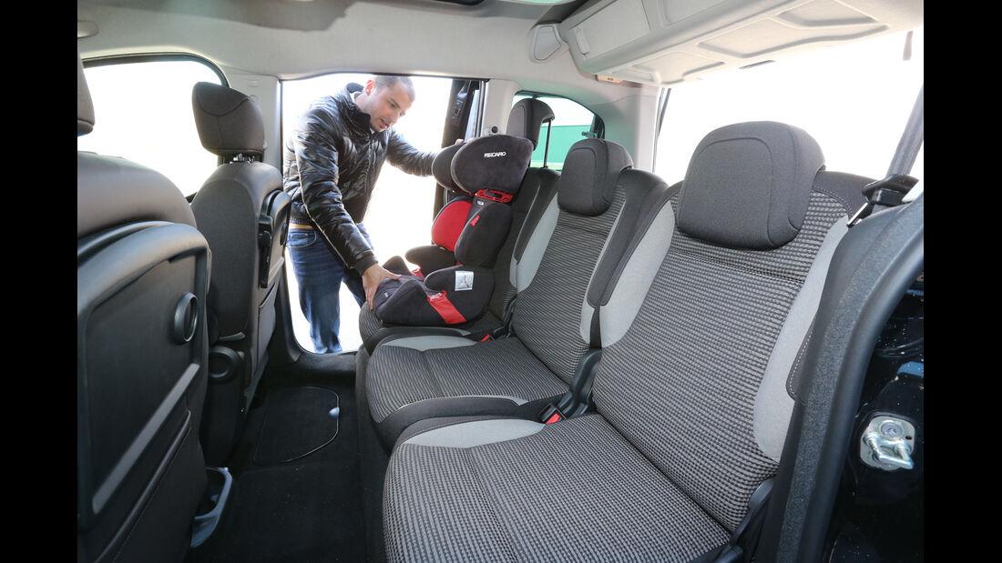 Peugeot Partner Tepee HDi FAP 115 Allure, Kindersitz