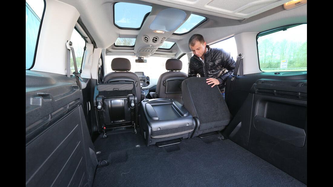 Peugeot Partner Tepee HDi FAP 115 Allure, Ladefläche