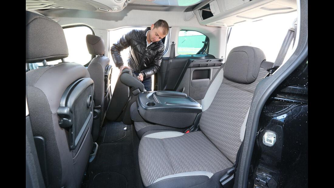 Peugeot Partner Tepee HDi FAP 115 Allure, Rücksitz, Umklappen