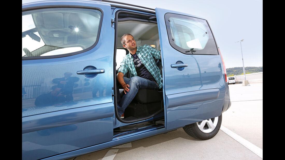 Peugeot Partner Tepee, Schiebetür